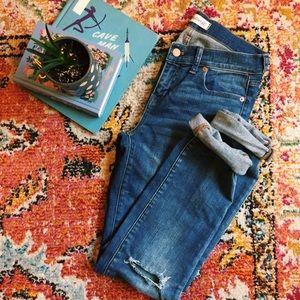 Madewell Alley Straight Jeans with Drop Hem